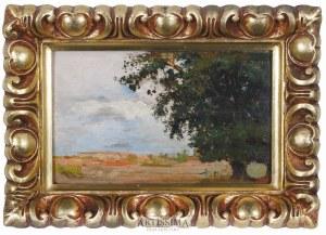 Feliks Michał Wygrzywalski (1875–1944), Drzewo na skraju, 1907