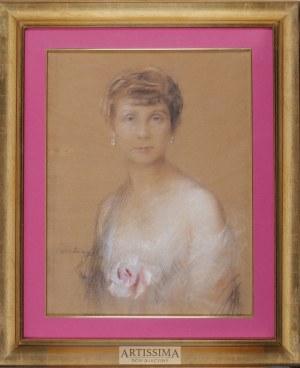 Teodor Axentowicz (1859–1938), Portret kobiety