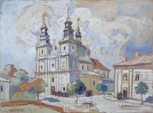 Irena Nowakowska-Acedańska (1909–1983), Kościół dominikanów w Tarnopolu, przed 1951