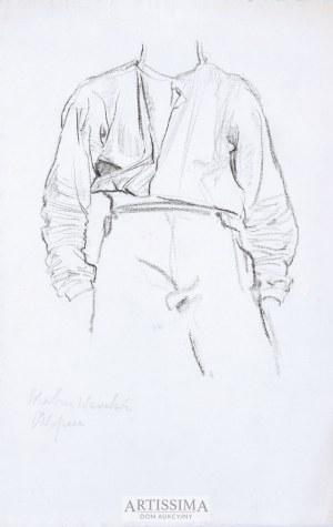 Józef Mehoffer (1869–1946), Chłopiec – projekt polichromii do skarbca wawelskiego