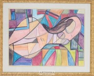 Franciszek Hayder (1905–1990), Akt, 1969*