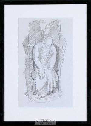 Zbigniew Pronaszko (1885–1958), Siedzący prorok – szkic do rzeźby*