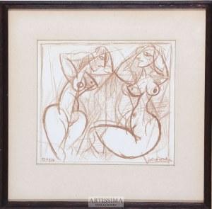 Kazimierz Podsadecki (1904-1970), Dwa akty, 1964*
