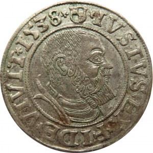 Prusy Książęce, Albrecht, grosz pruski 1538, Królewiec