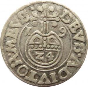 Pomorze, Bogusław XIV, grosz 1619, Barth - Darłowo