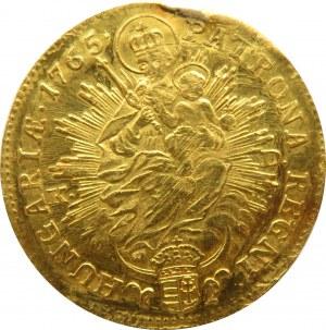 Austria, Maria Teresa, dukat 1765 KD, Kremnica