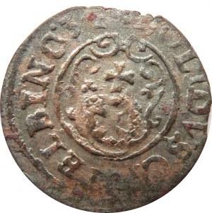 Okupacja Szwedzka, Krystyna, szeląg 1634, Elbląg