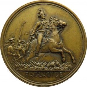 Polska, medal 100-lecie bitwy pod Racławicami 1894, brąz