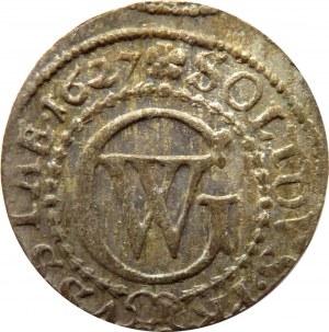 Prusy/Rzeczpospolita, Jerzy Wilhelm, szeląg 1627, Królewiec, UNC