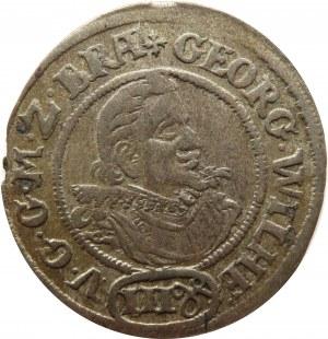 Śląsk/Marchia Brandenburska, Jerzy Wilhelm, 3 grosze kiperowe 1623, Krosno O.