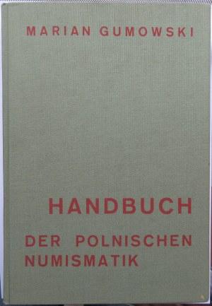 Dr Marian Gumowski, Handbuch - Der Polnischen Numizmatik, Graz 1960, ex-libris St. Aulich