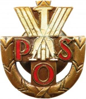 Polska, II RP, Polska Odznaka Strzelecka, wyk. Bracia Sztajnlager, Warszawa, rzadka