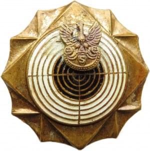 Polska, II RP, Złota Odznaka Strzelecka, wzór 1932