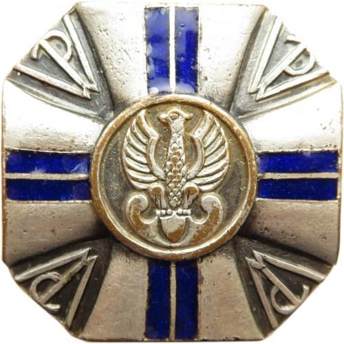 Polska, II RP, odznaka Przysposobienia Wojskowego, stopień II
