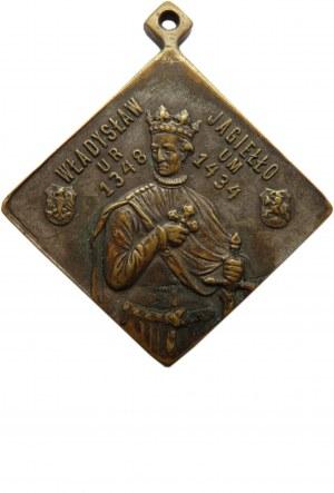 Polska, medal-pamiątka obchodów 500-lecia zwycięstwa pod Grunwaldem 1910