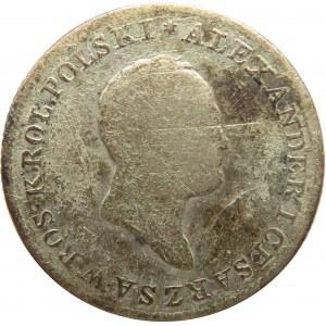 Aleksander I, 1 złoty 1824 I.B., Warszawa - rzadki rocznik
