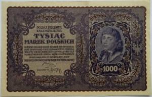Polska, II RP, 1000 marek 1919, III seria B