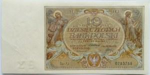 Polska, II RP, 10 złotych 1929, seria EJ, UNC/UNC-