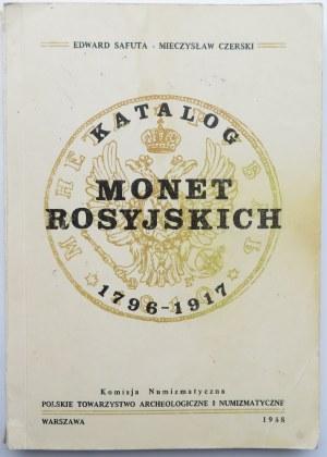 E. Safuta, M. Czerski, Katalog Monet Rosyjskich 1796-1917, Warszawa 1988