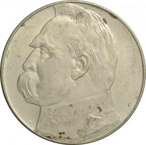 Polska, II RP, Józef Piłsudski, 10 złotych 1938, bardzo ładny