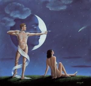 Rafał Olbiński (ur. 1943), Księżycowa strzała