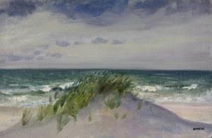 Aneri Irena Weissowa (1888-1981), Pejzaż z Jastrzębiej Góry