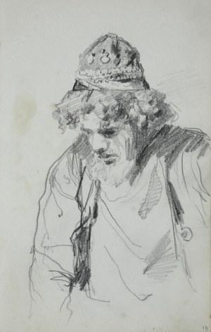 Stanisław Kaczor Batowski (1866-1945), Popiersie młodego mężczyzny w stroju orientalnym