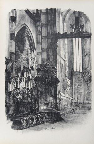 Jan Kanty Gumowski (1883-1946), Wnętrze kościoła Mariackiego