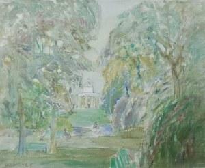 Henryk Krych (1905 - 1980), Ogród Saski