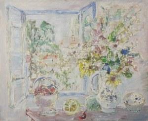 Henryk Krych (1905-1980), Martwa natura z kwiatami