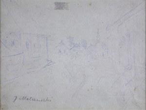 Jacek Malczewski (1854-1929), Motyw z małego miasteczka