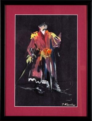 Tadeusz Kantor (1915 Wielopole Skrzyńskie - 1990 Kraków), Szlachcic - projekt kostiumu