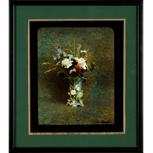 Jan Saudek (Ur. 1935 Praga), The Story of Flowers - zestaw pięciu fotografii