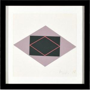 Jan Chwałczyk (Ur. 1924 Krosno), Układ geometryczny II, 1990