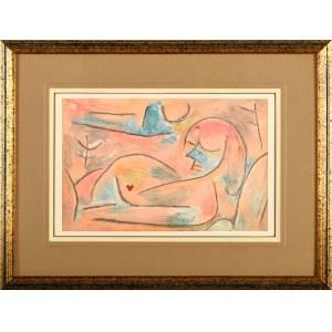 Paul Klee (1879 Münchenbuchsee, Szwajcaria - 1940 Locarno-Muralto, Szwajcaria), Sen zimowy