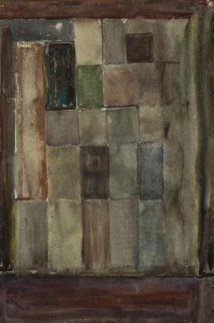 Adam Marczyński (1908 - 1985),Kompozycja geometryczna, 1962 r.