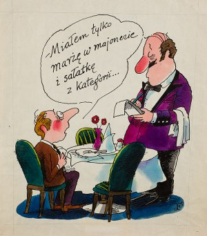 Jerzy Flisak (1930-2008), Miałem tylko marżę w majonezie i sałatkę z kategorii...