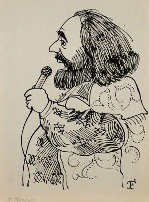 Jerzy Flisak (1930-2008), Karykatura Denisa Rossousa