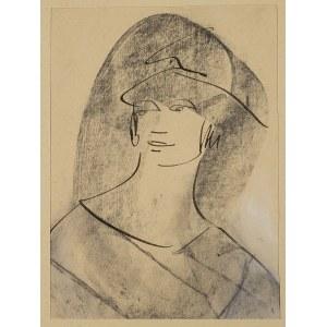 Bronisława Piprek, Portret kobiety w kapeluszu