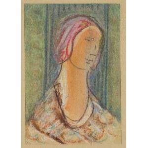 Bronisława Piprek, Portret kobiety w chuście