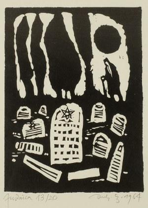 Jerzy Duda-Gracz (1941- 2004), Judaica, 1964 r.