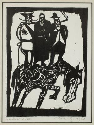 Jerzy Duda-Gracz (1941 - 2004), Judaica, 1964 r.