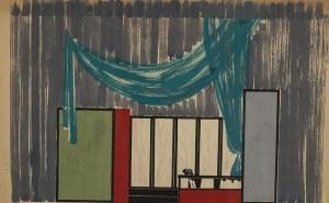 Piotr Potworowski (1898 - 1962), Projekt scenografii III