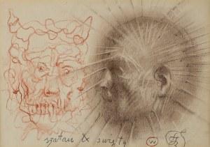 Franciszek Starowieyski (1930 - 2009), Szatan i święty