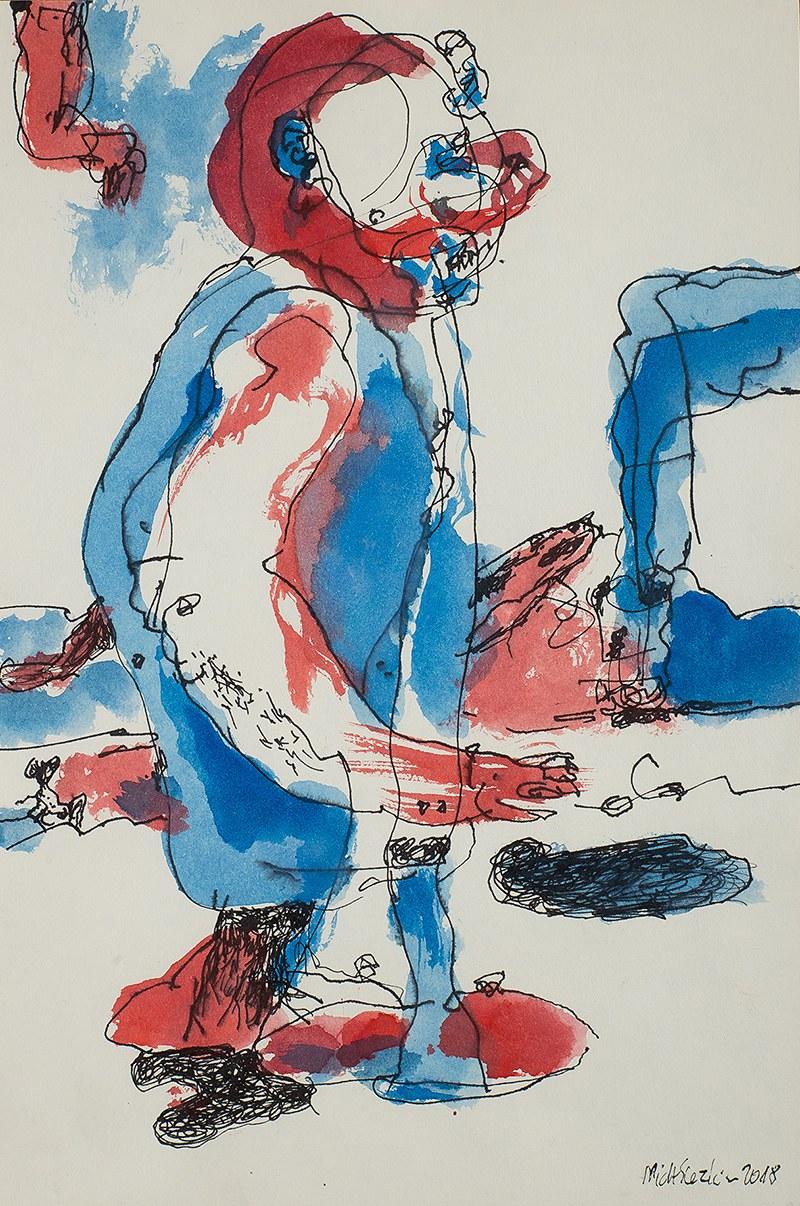 Michał Slezkin (ur. 1960 r.), Blue crab, 2018 r.