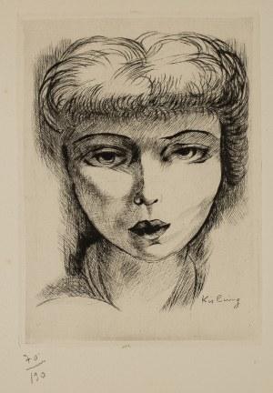 Mojżesz Kisling (1891 – 1953), Twarz kobiety