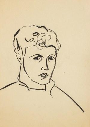Roman Opałka (1931 - 2011), Portret, lata 50. XX w.