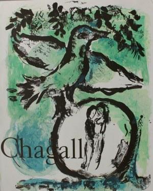 Marc Chagall (1887-1985), Zielony ptak-Plakat Galerie Maeght(1962, Mourlot #354)