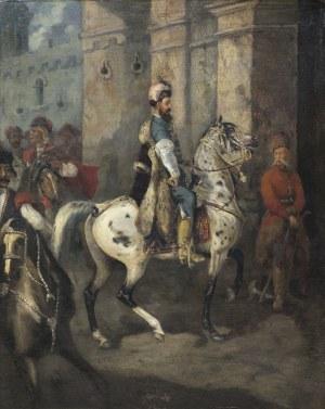 Brandt Józef, STEFAN CZARNIECKI NA TARANCIE, 1862