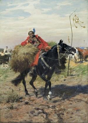 Brandt Józef, FURAŻER, OK. 1886 – 1890